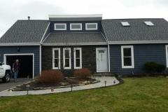 GAF 50 Year American Harvest roof: Nantucket Morning King Classic: Slate