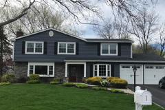 GAF 50 year roof: Charcoal King Classic: Slate Exclusive Simonton 9800 windows