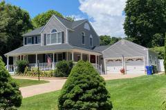 Roof: GAF 50 year roof Charcoal Siding: King Classic Greystone