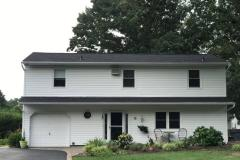 GAF HDZ shingle: Charcoal Exclusive Simonton 9800 Windows