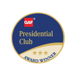 GAF Presidential Club Award Winner Icon